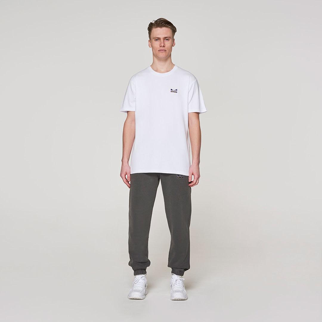 Violet Original Face T-shirt -  White-1