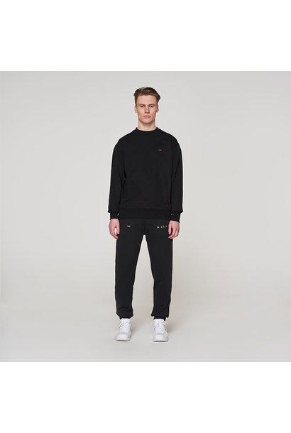 Backprint Sweater -  Black
