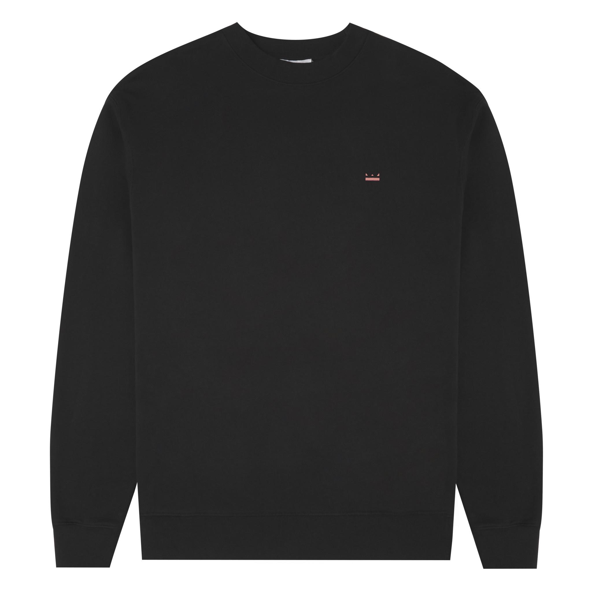 Backprint Sweater -  Black-4