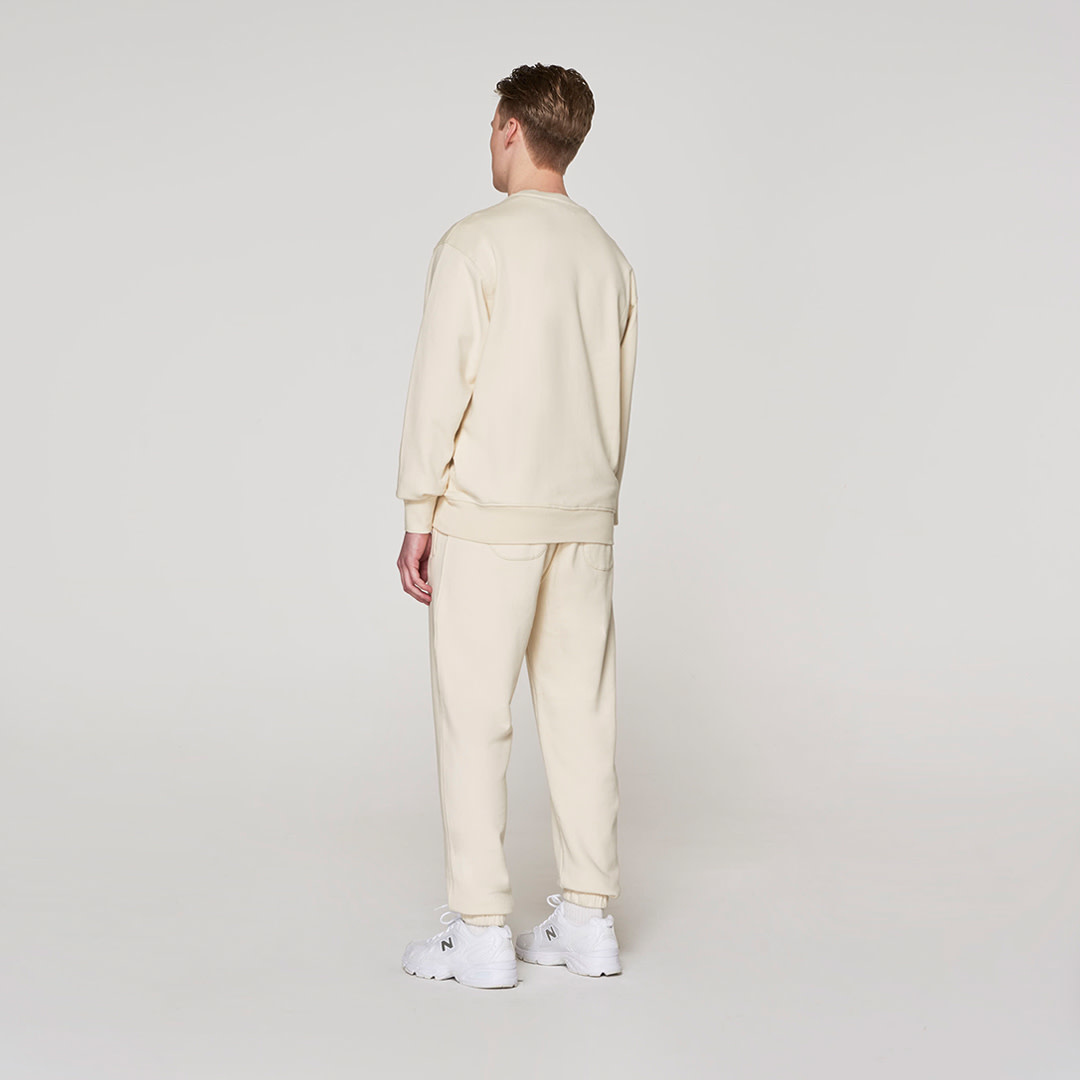 Red Crown + Name Sweater -  Off White-2