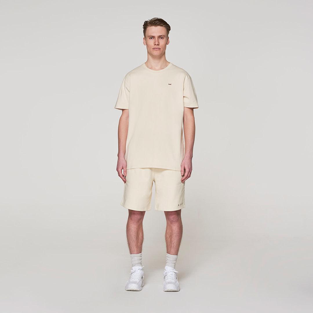 Jogging Short -  Off White-1