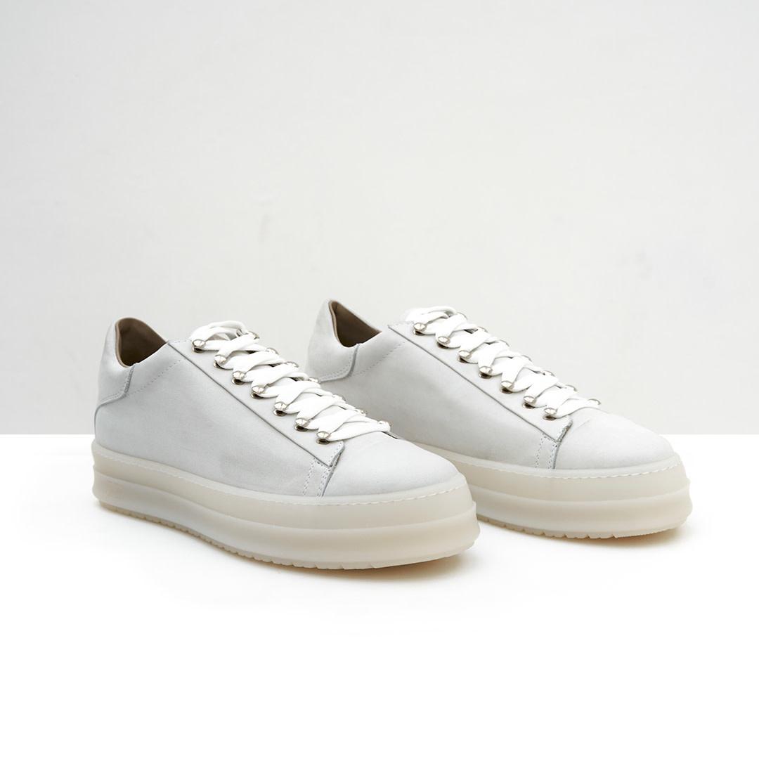 Icon Low Top Nabuk - White-1