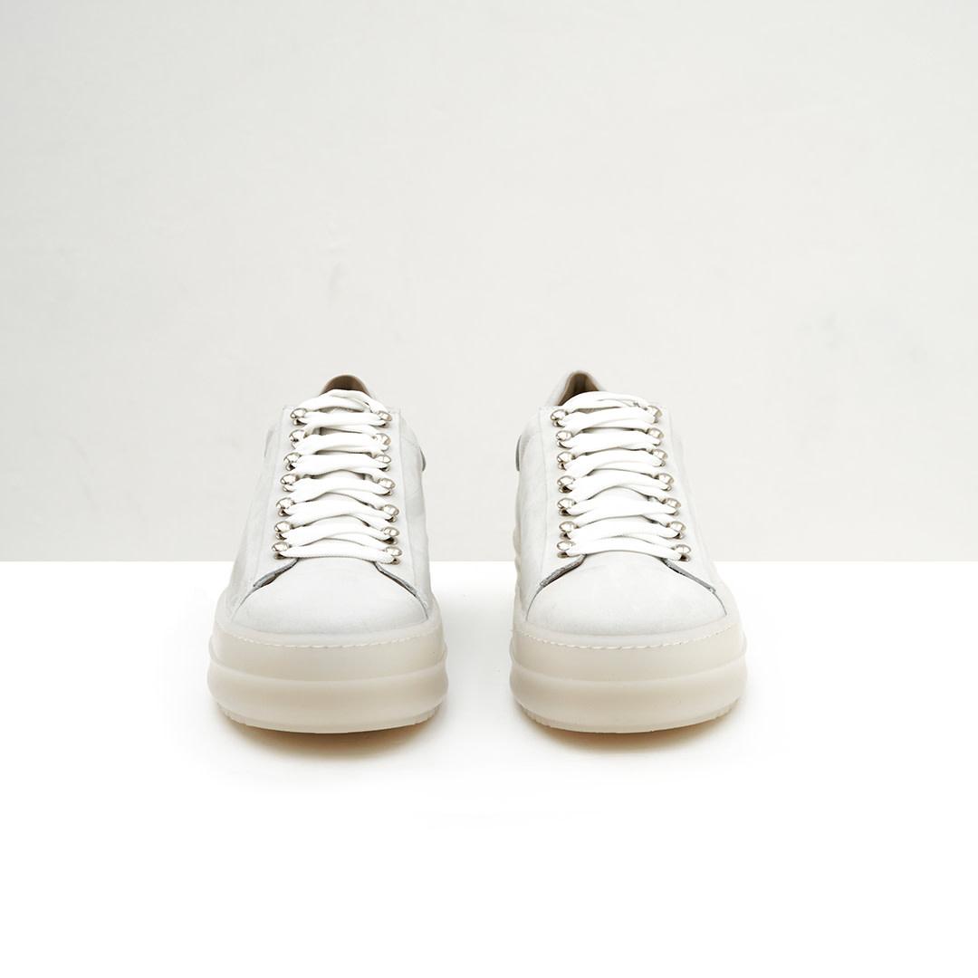 Icon Low Top Nabuk - White-2