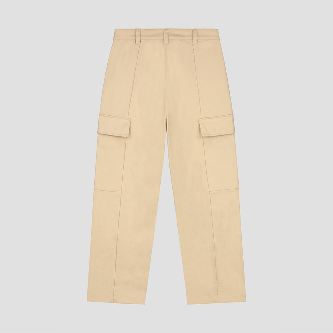 Cargo Pants - Beige-2