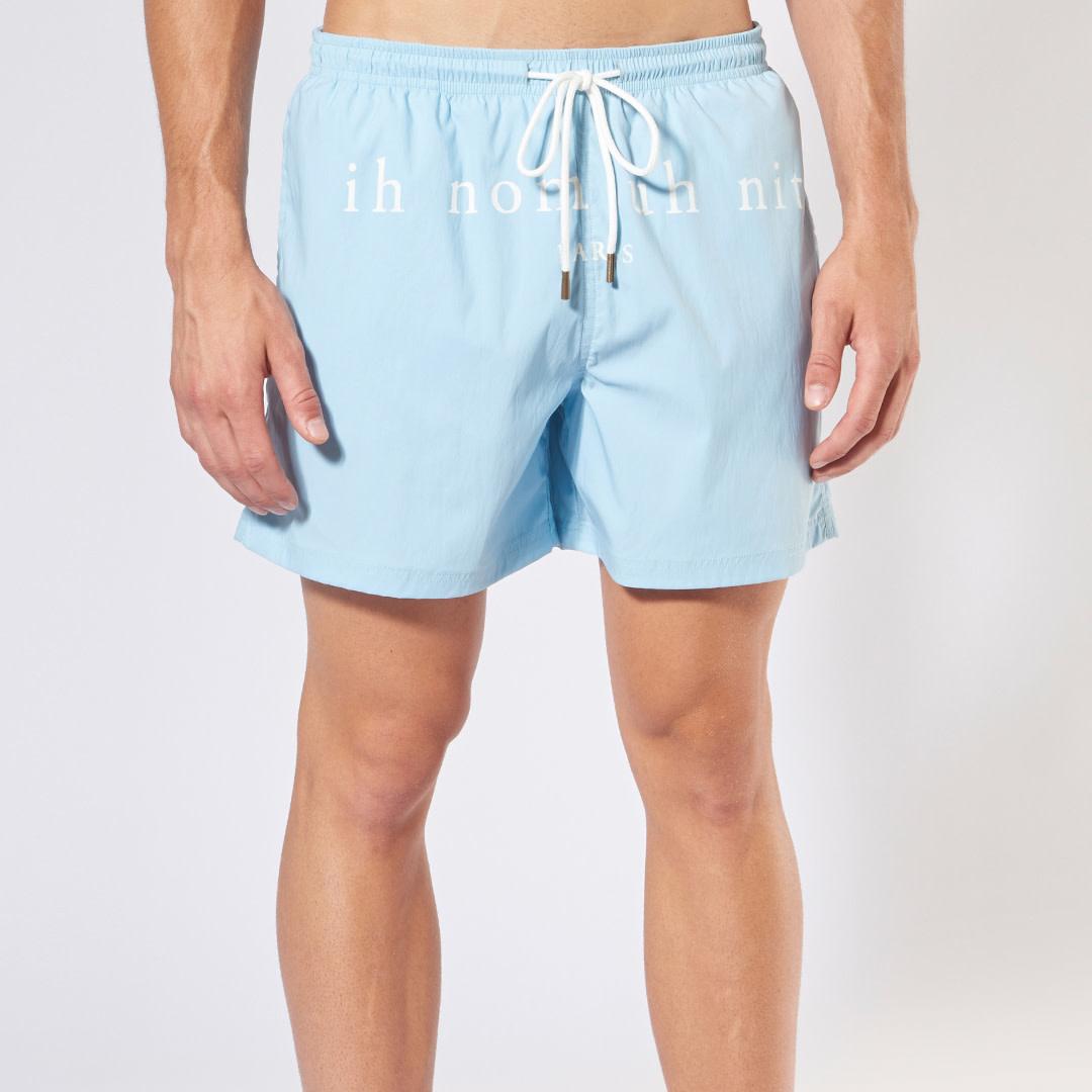 Beachwear Shorts - Light Blue-1