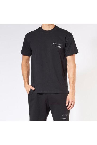 Heritage Print + Future T-shirt - Black