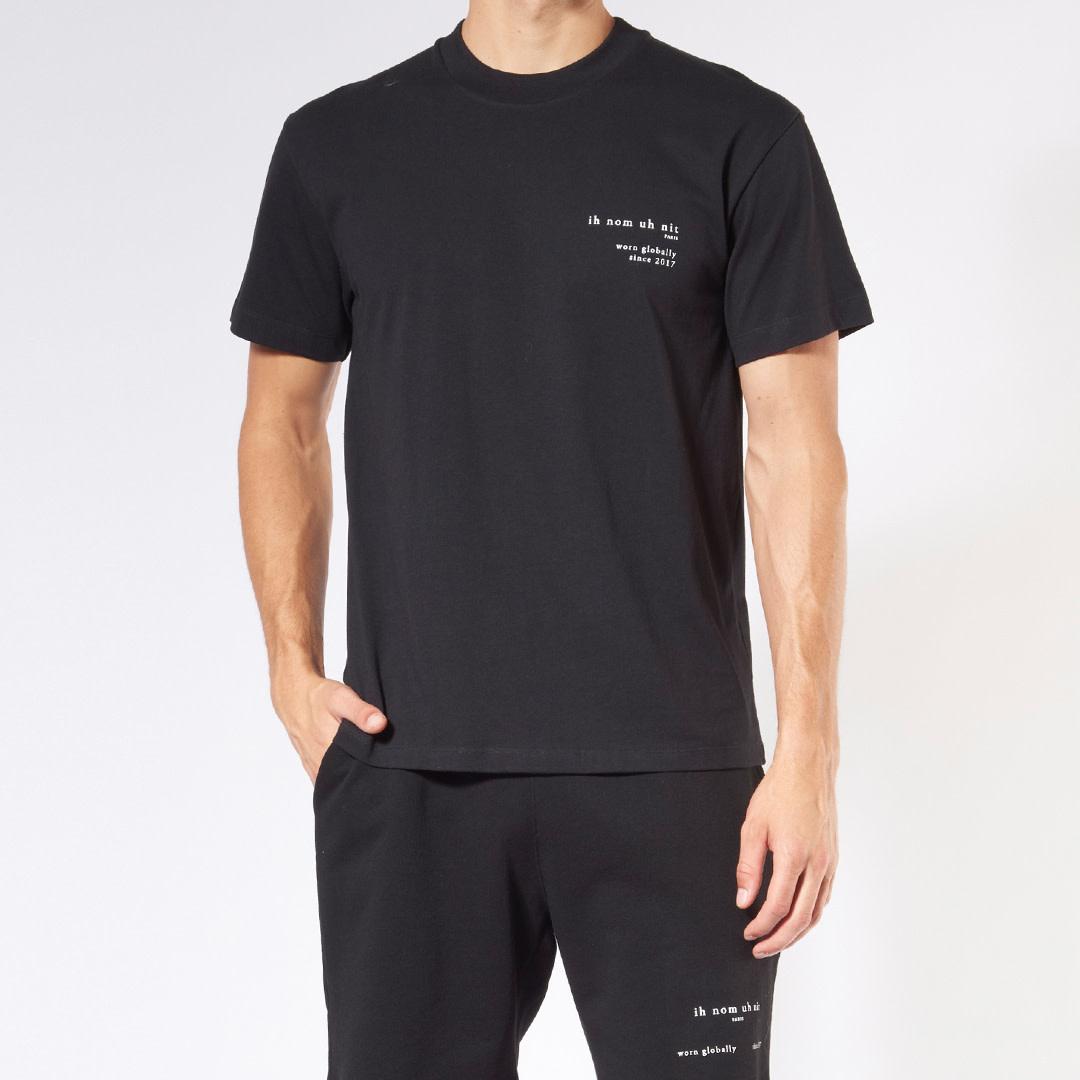 Heritage Print + Future T-shirt - Black-1