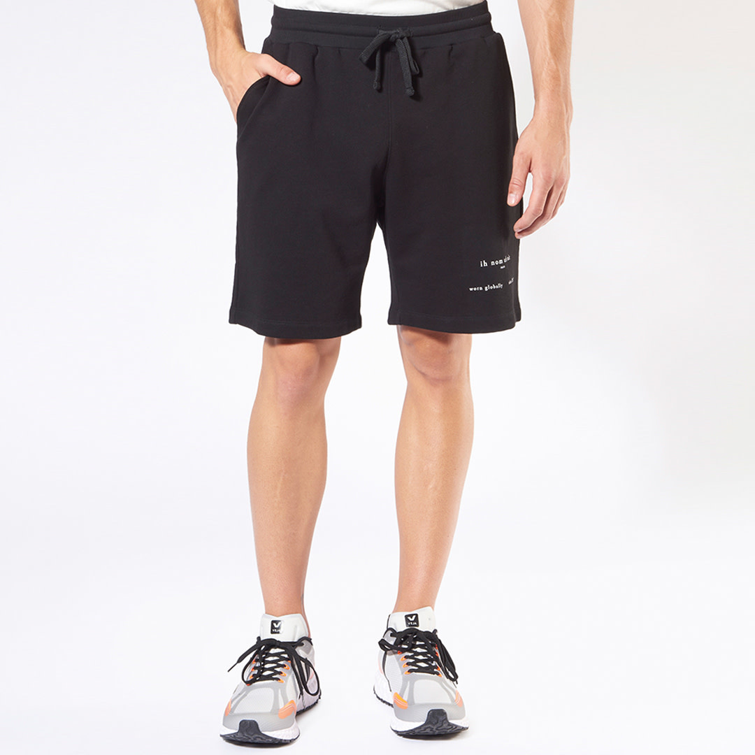Heritage Logo Shorts - Black-1