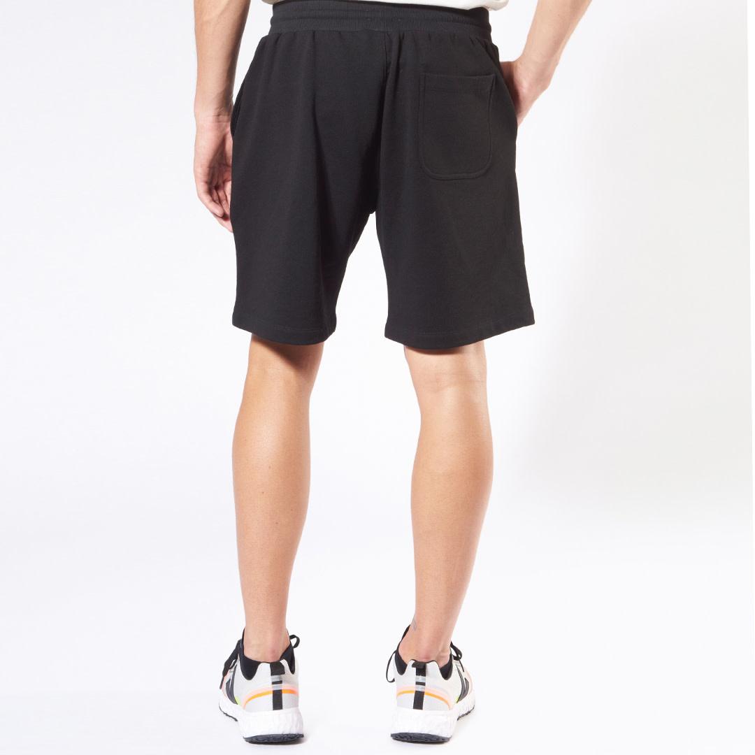 Heritage Logo Shorts - Black-2