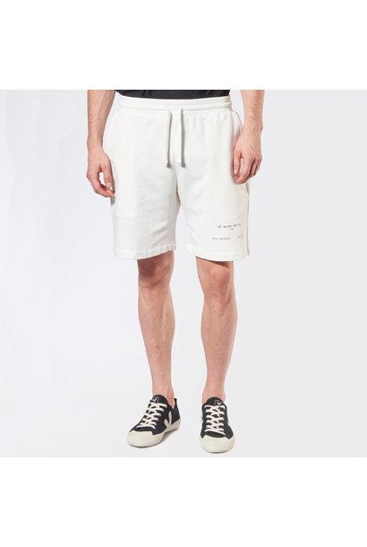 Heritage Logo Shorts - Off-White