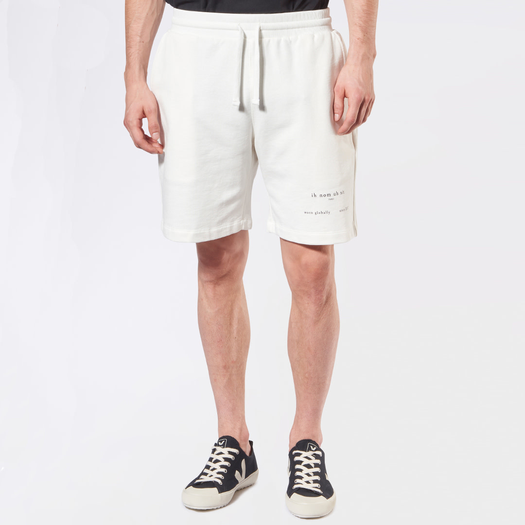 Heritage Logo Shorts - Off-White-1