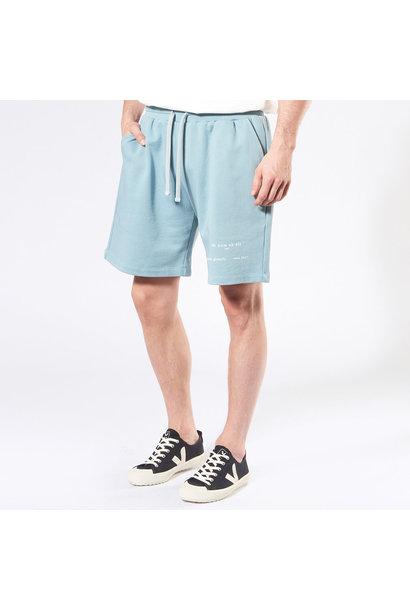 Heritage Logo Shorts - Light Blue