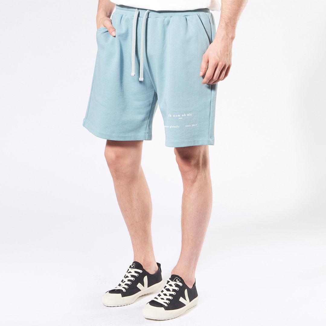 Heritage Logo Shorts - Light Blue-1