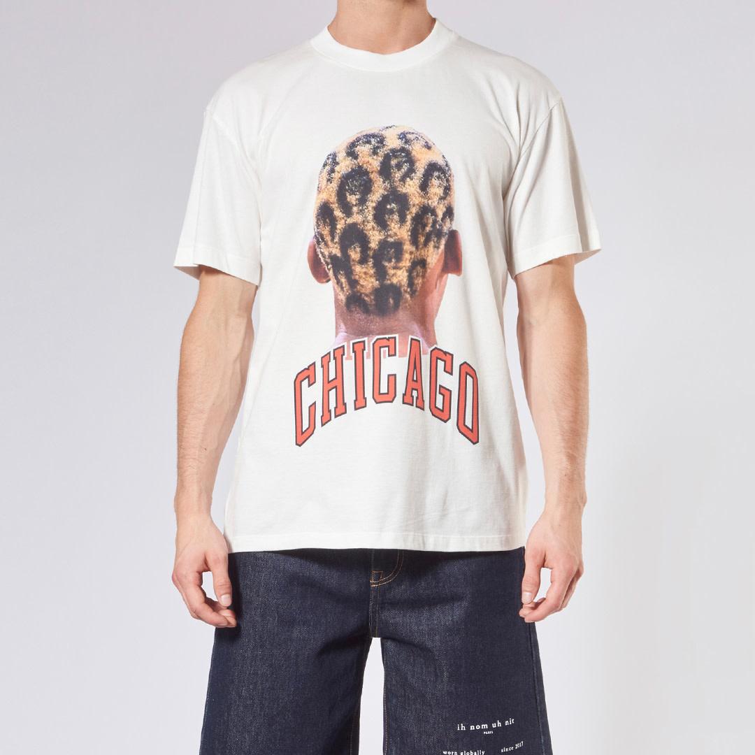 Chicago Player + Logo T-Shirt - Off-White-1