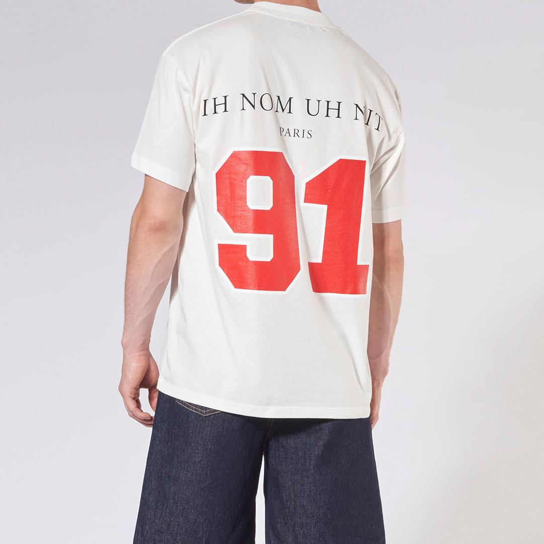 Chicago Player + Logo T-Shirt - Off-White-2