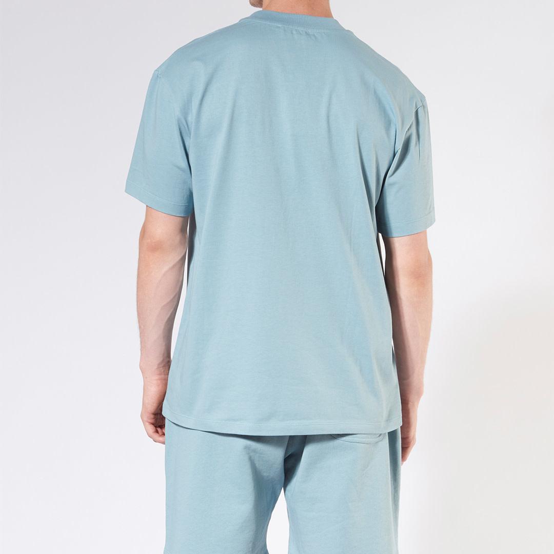 Rainbow Logo T-shirt - Blue-2