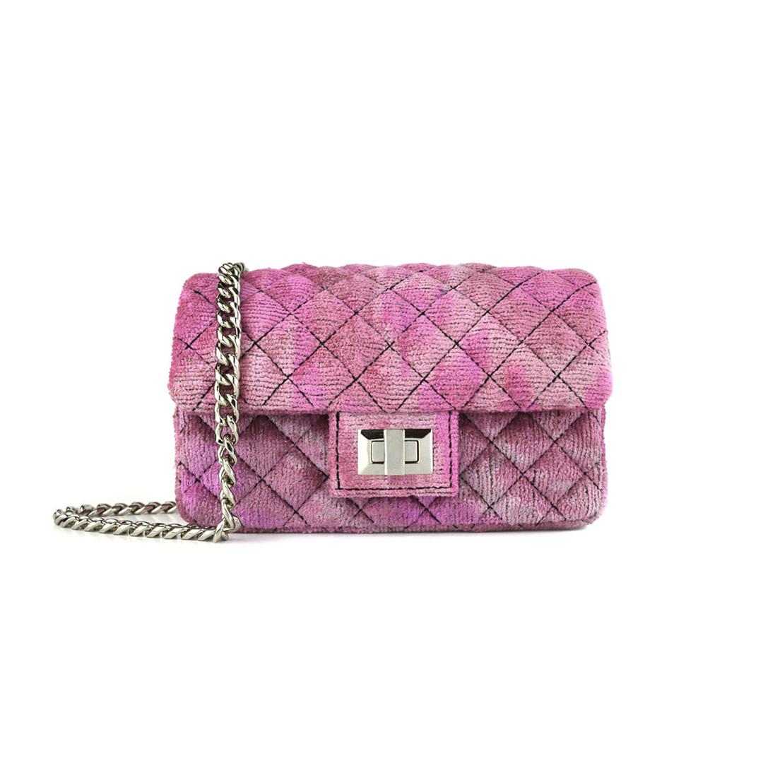Mini Velvet Bandita - Pink-1