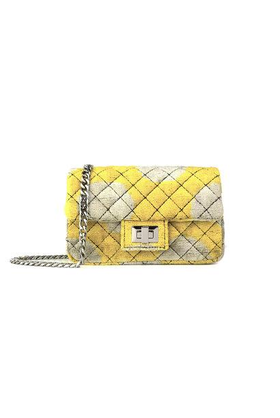 Mini Velvet Bandita - Yellow-Beige