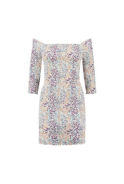 Ronette Dress - Multicolor Flower