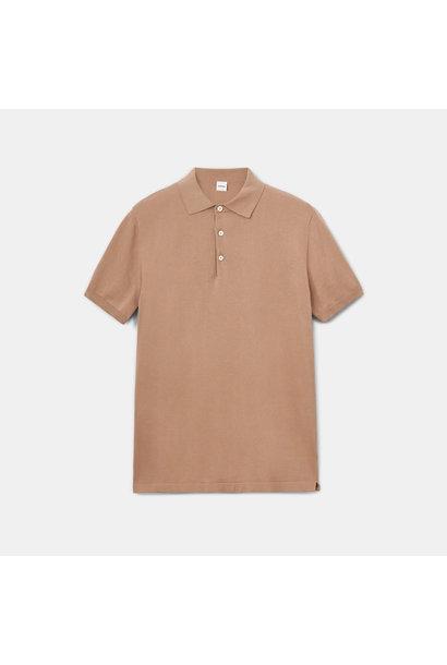 Knit Polo - Beige