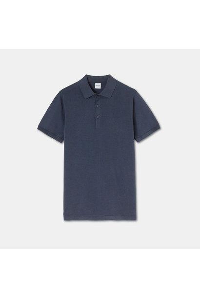 Knit Polo - Navy