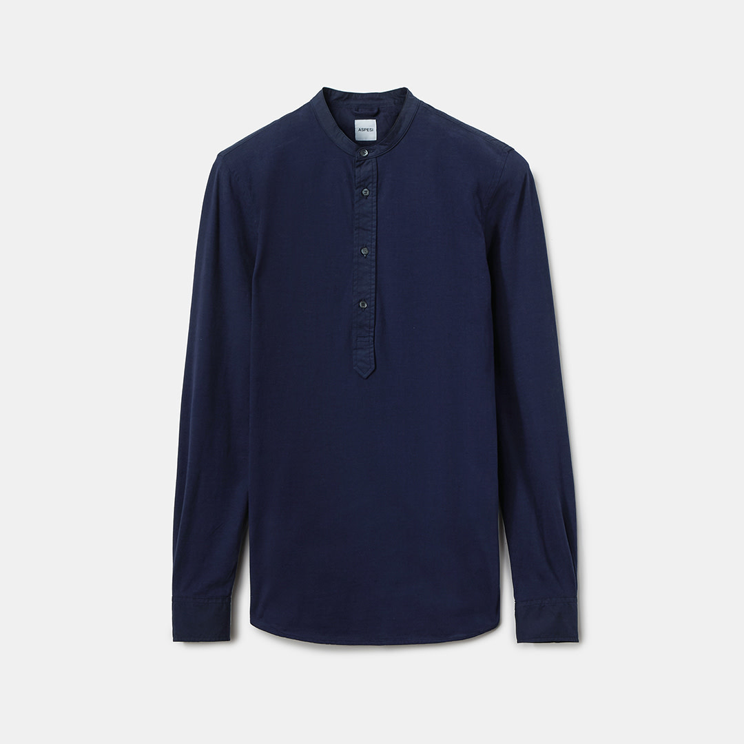 Jersey Polo Shirt - Blue-1