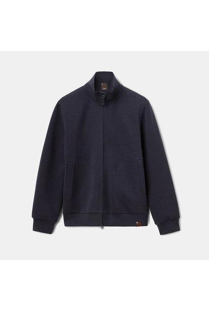 Sweatshirt Jacket - Navy
