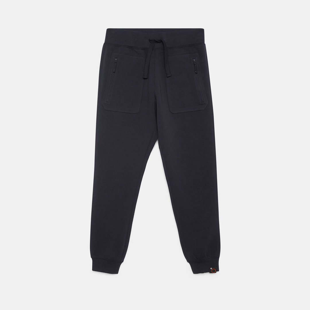 Jersey Trousers - Navy-1