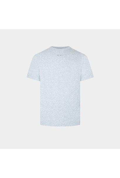 Logo Printed T-shirt - Grey Melange