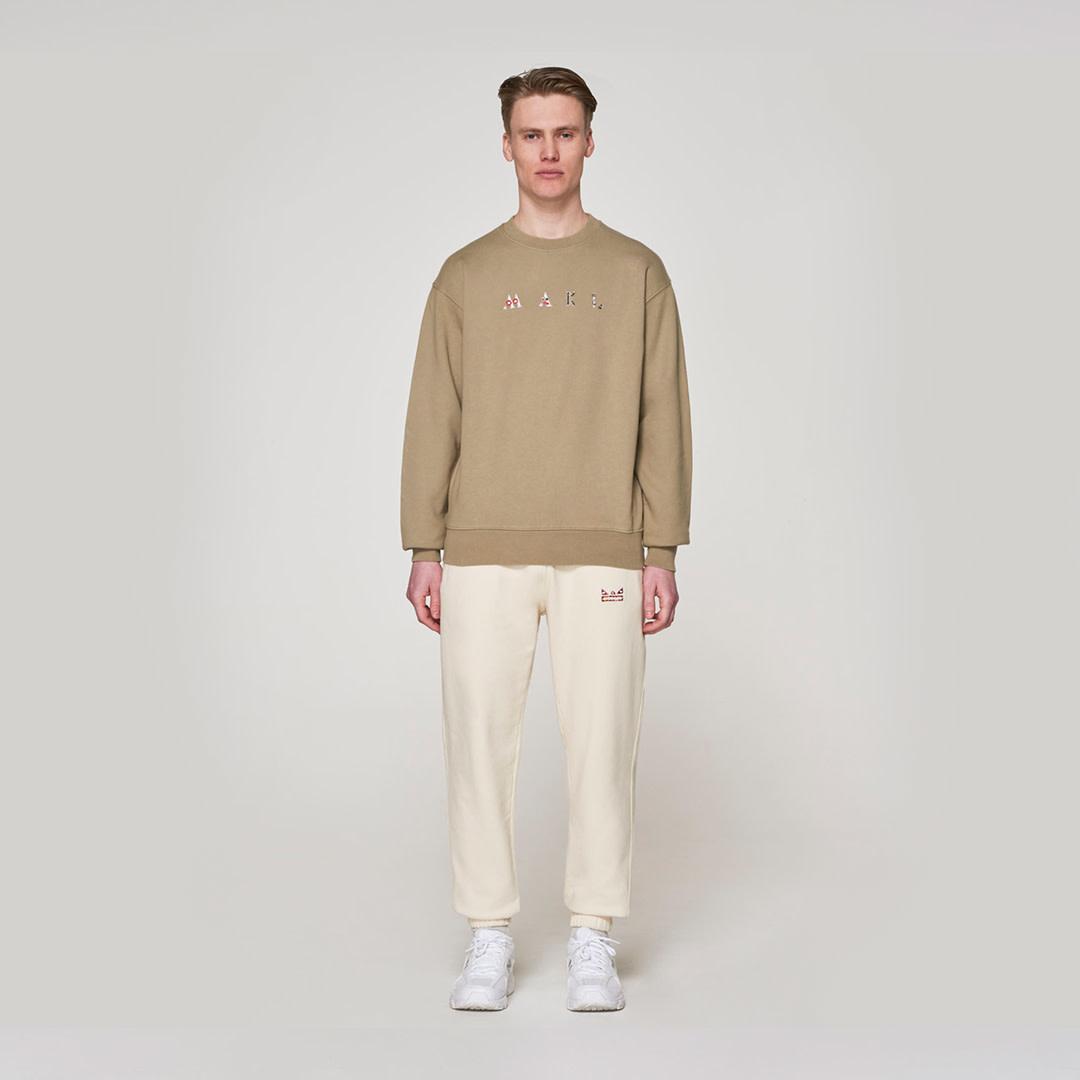 Original Face Sweater -  Khaki-1