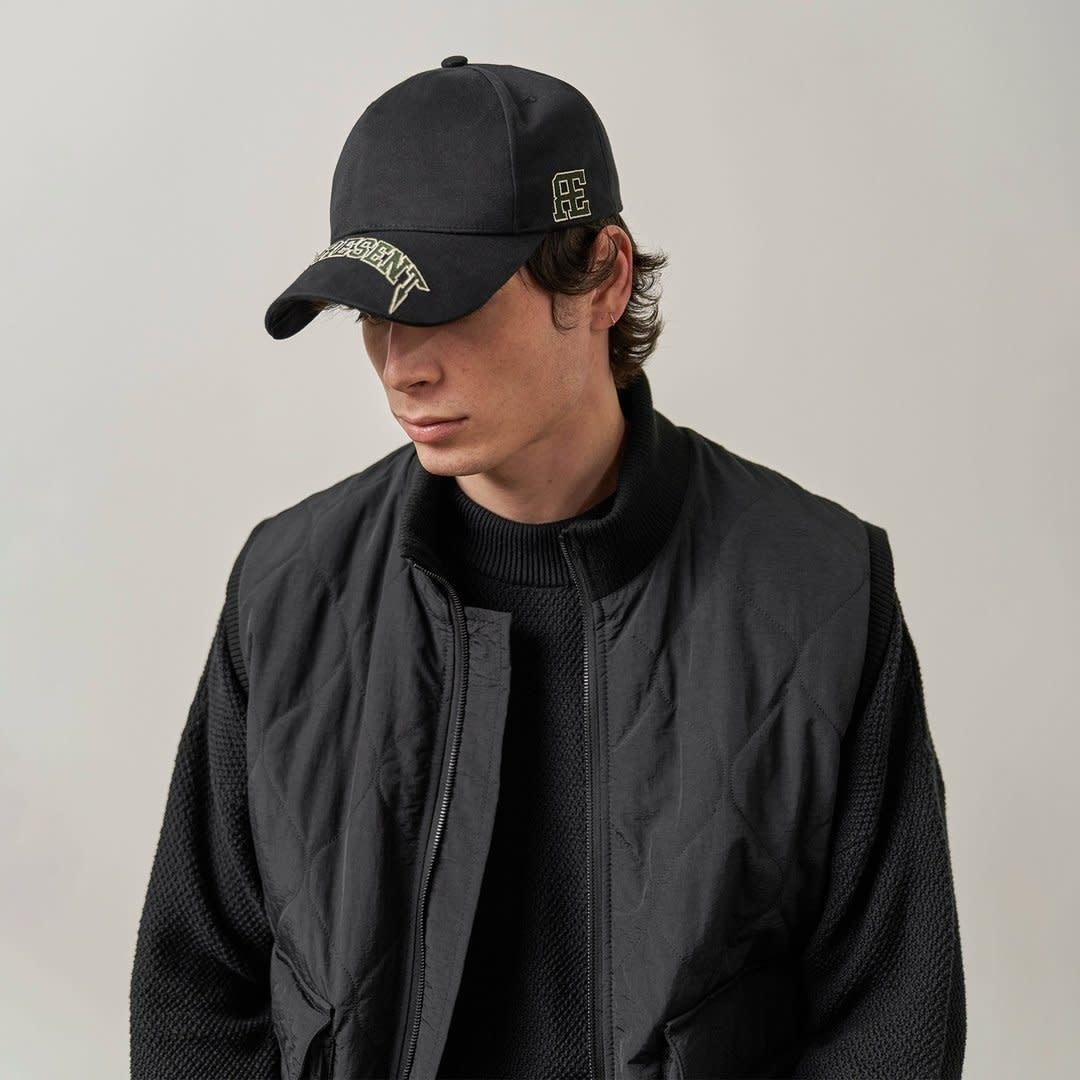 Varsity Cap - Black One Size-2