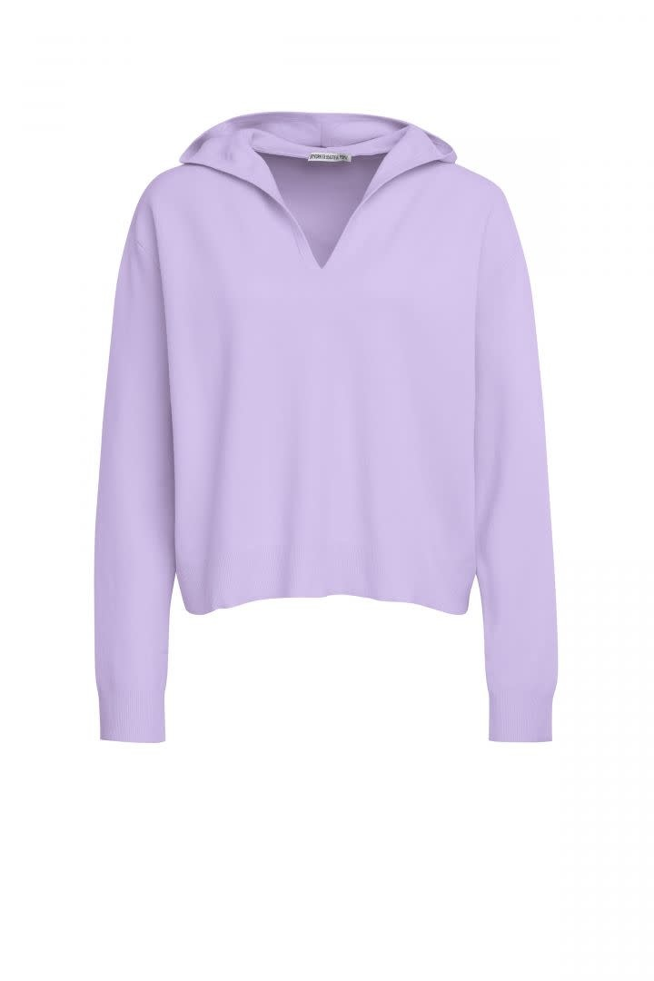 Fima Knitwear Hoodie - Lila-1