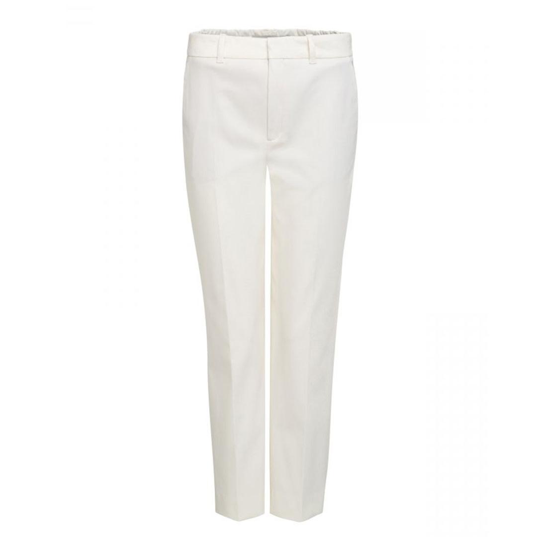 Regular Fit Trousers - Beige-1