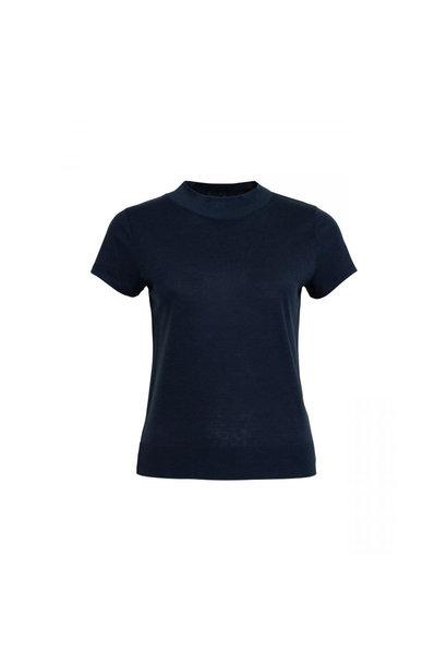 T-shirt Gesena - Blauw