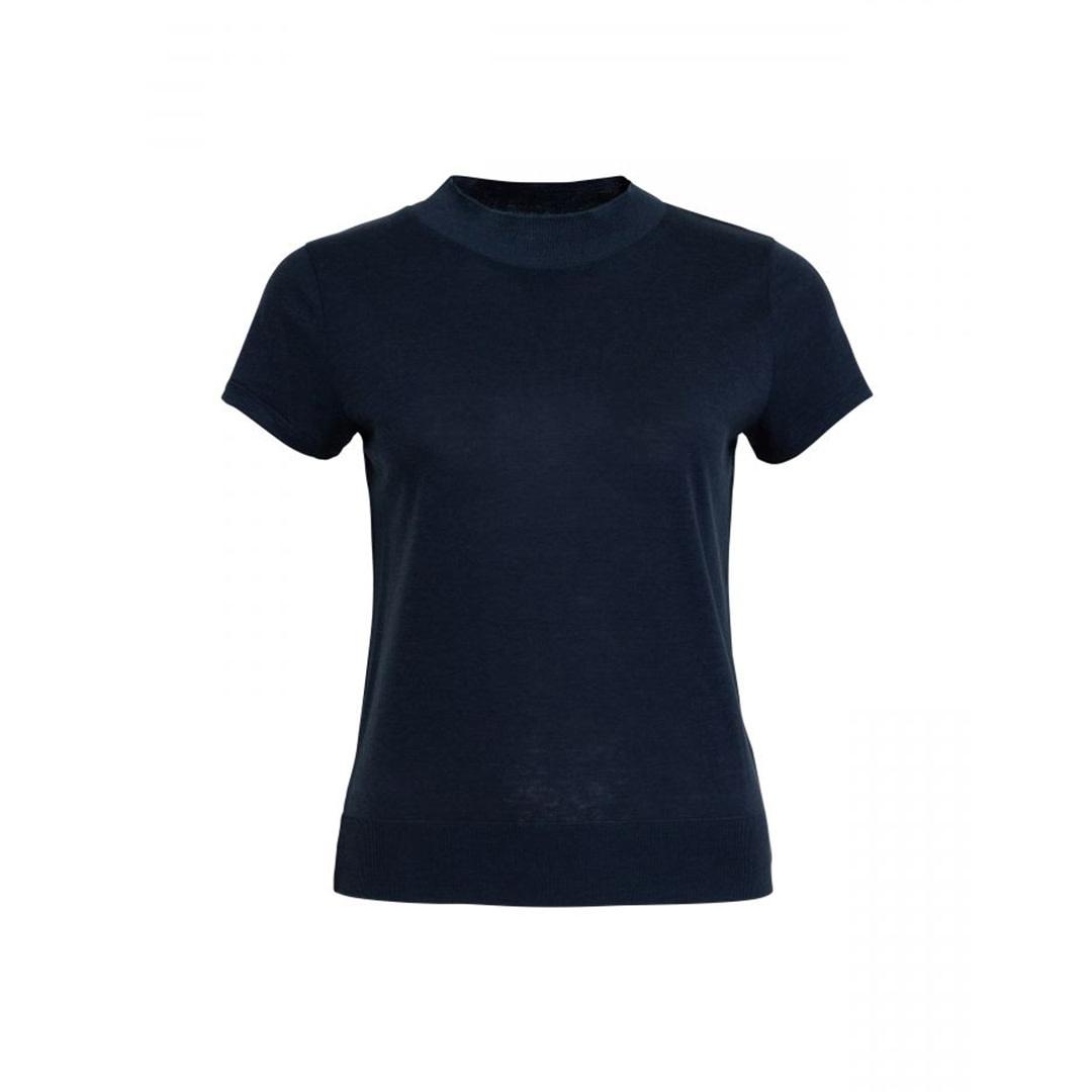 T-shirt Gesena - Blauw-1