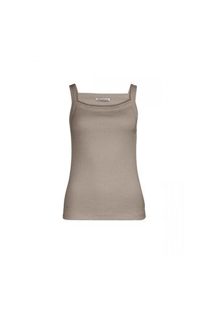 Aneti Cotton Top -  Bruin