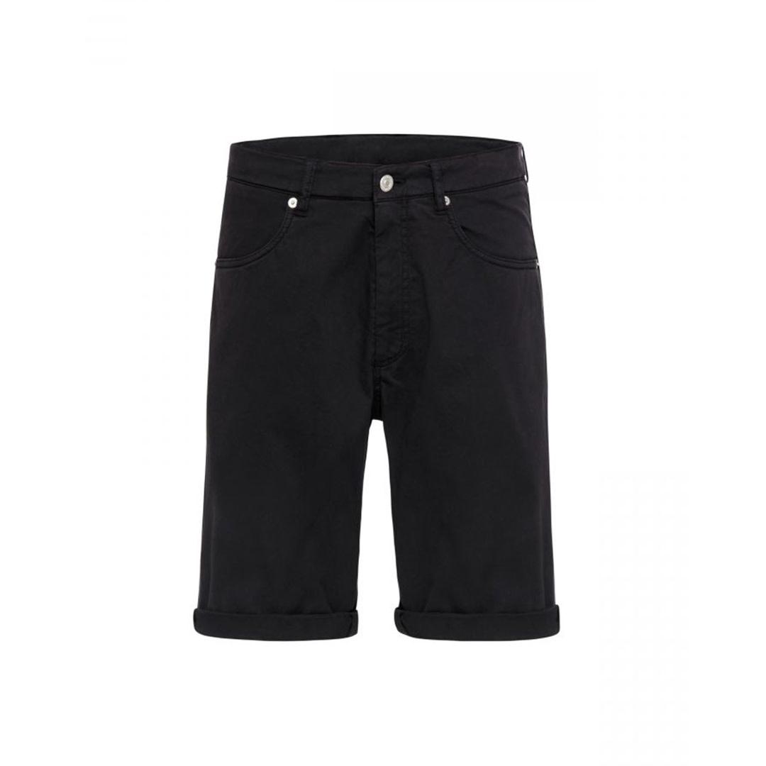 Cotton Shorts - Black-1
