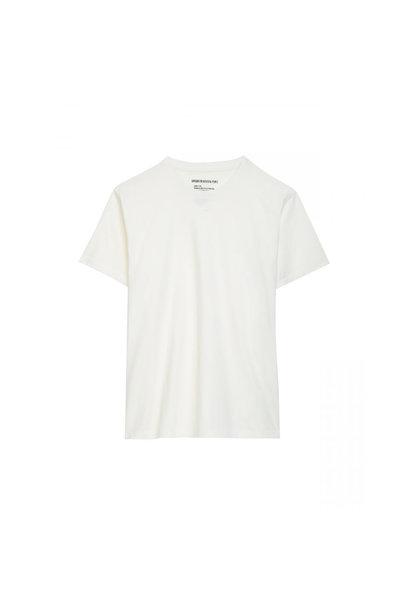 Cotton T-shirt - Beige