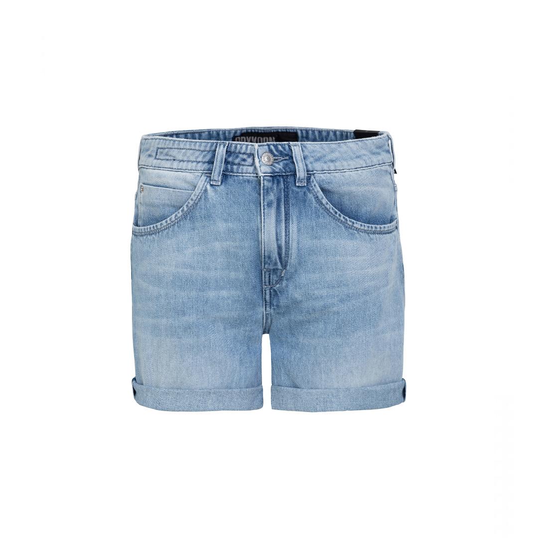 Caba Jeans Shorts - Blue-1