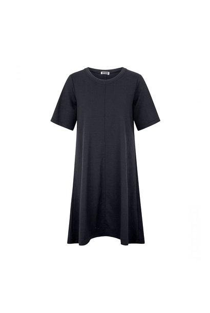 Shortsleeved Dress - Blue