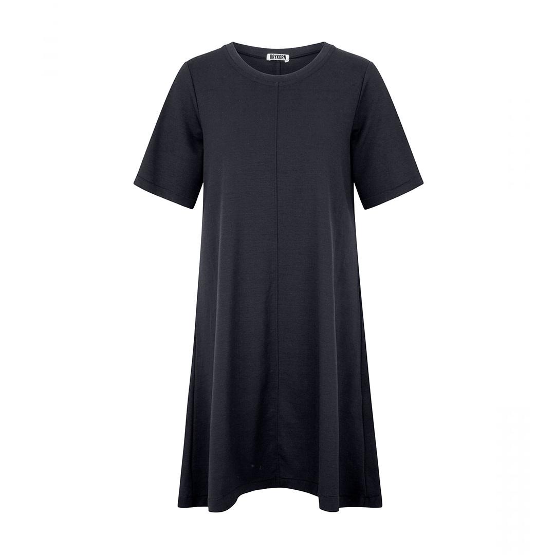 Shortsleeved Dress - Blue-1