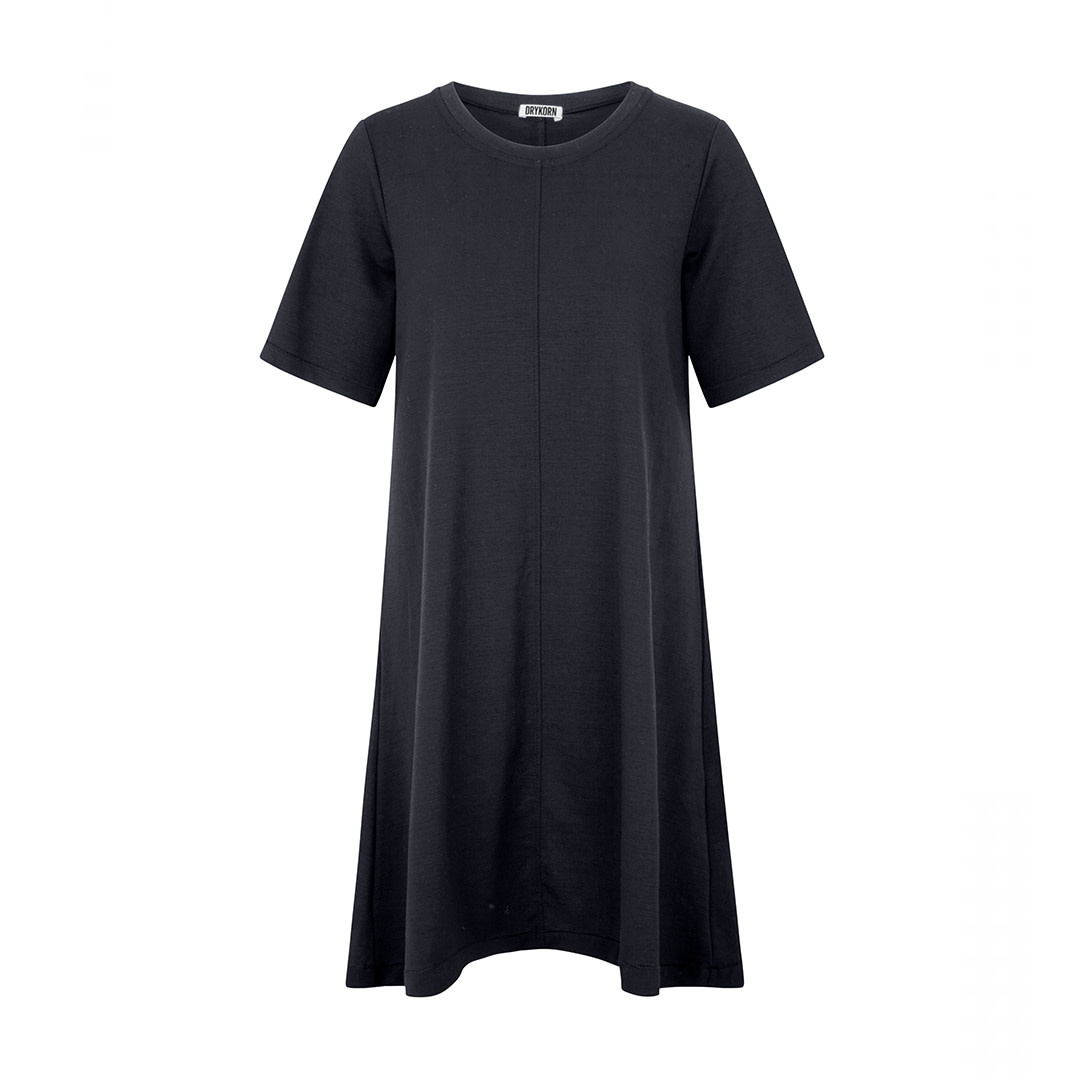 Shortsleeved Dress - Blue-2