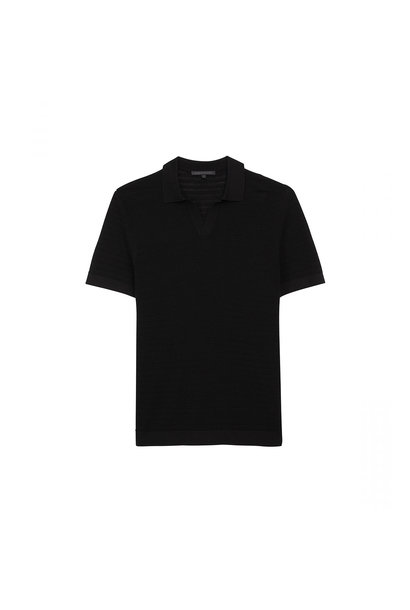 Knitted T-shirt - Black