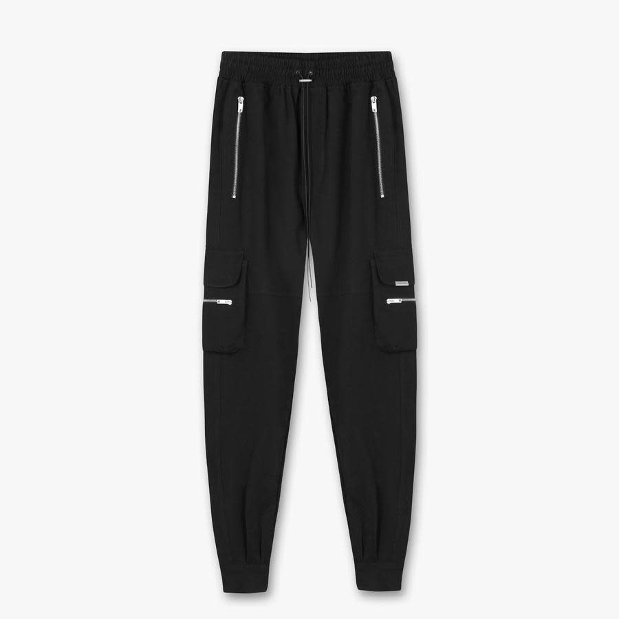 Military Pants - Black-1