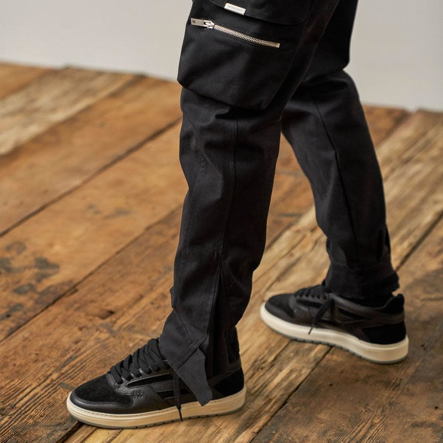 Military Pants - Black-2