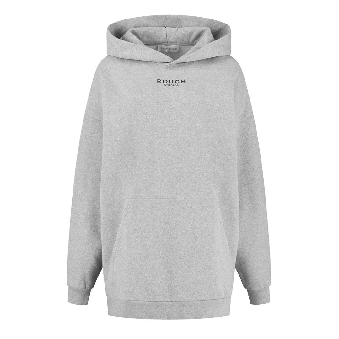 Sissel Hoodie Dress - Grey-1