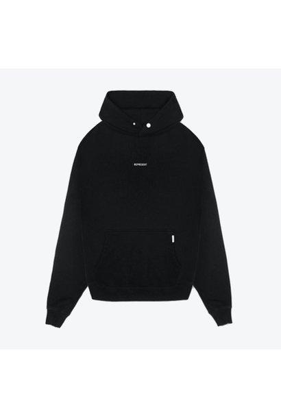 Regular Fit Logo Hoodie - Black
