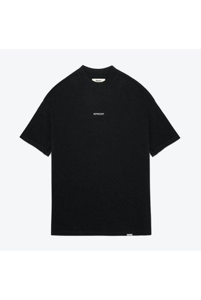 Regular Fit Logo T- Shirt - Black