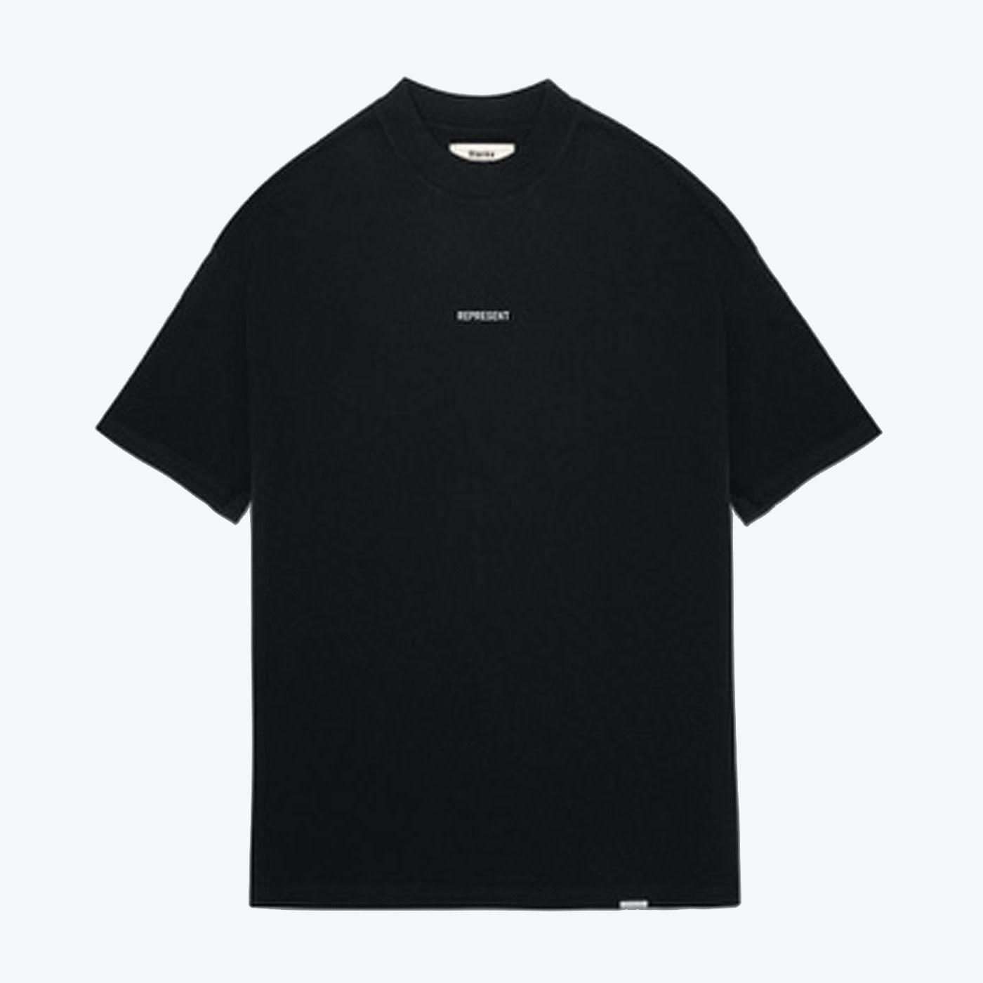 Regular Fit Logo T- Shirt - Black-1