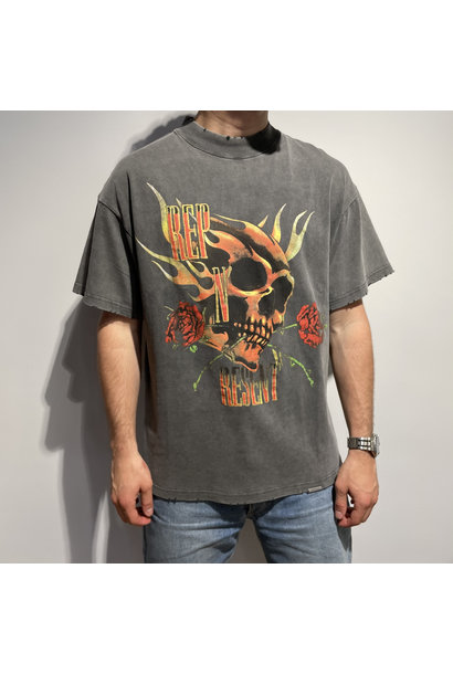 Rep n Resent T Shirt - Vintage Grey